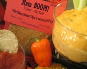 X-hot Mata BOOM NO SALT Salsa Seasoning spicy blend of japone and habanero peppers makes salsa dips as grilling rub free shipping available