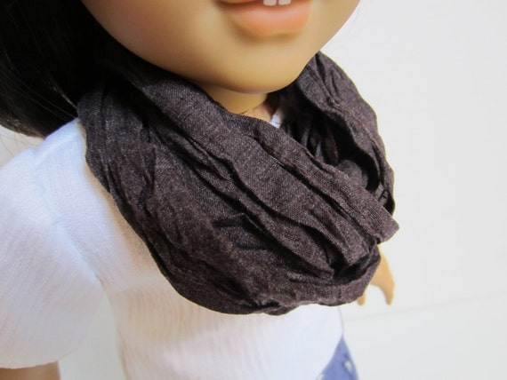 Sun dried crinkle scarf--for American Girl Doll
