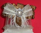 Elegantly made Bridal Garter Set - 2pcs