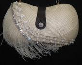 Elegant Evening Bridal Clutch Bag