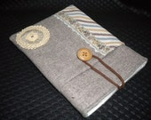 eReader Fabric Sleeves / Kindle Case / Nook Sleeves / Padded Case / Padded Cover for Kindle / Wool Kindle Cover 3