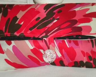 Sleek & Sassy Foldover Clutch  Bridal Bag
