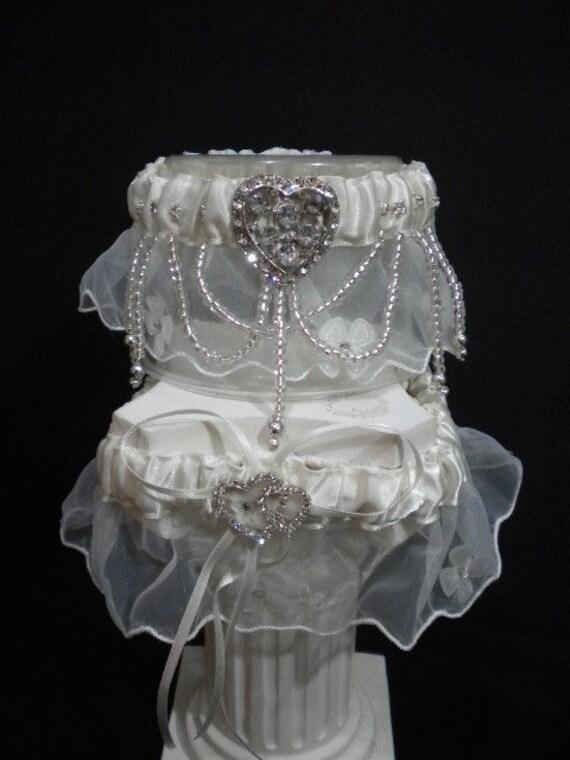 PRINCESS  Elegant  Bridal Garter Set - 2pcs