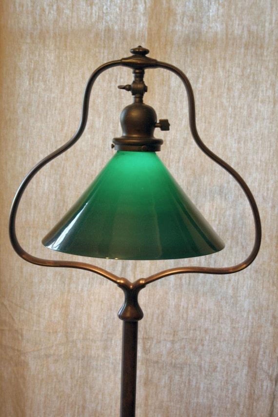 Reserved For Israel Winikor Handel Harp Floor Lamp