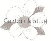 Custom Listing for tiffanyheide
