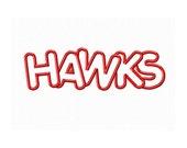 Instant Download Hawks Embroidery Machine Applique Design-646