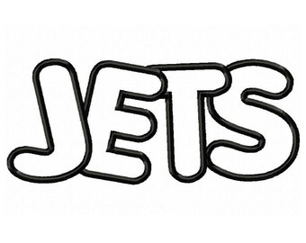 Instant Download Jets Embroidery Machine Applique Design-561
