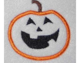 Instant Download Jack O Lantern Embroidery Machine Applique Design 800