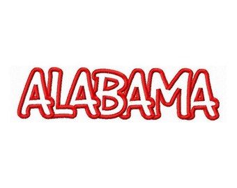 Instant Download Alabama Embroidery Machine Applique Design- 662