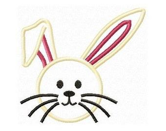 Instant Download Rabbit Embroidery Machine Applique Design-900