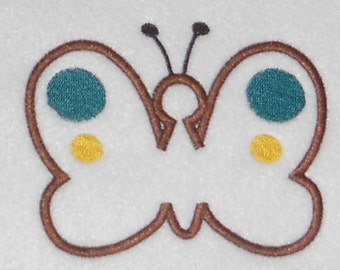 Instant Download Butterfly Embroidery Machine Applique Design-918