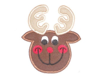 Instant Download Rein Deer Embroidery Applique Design-843