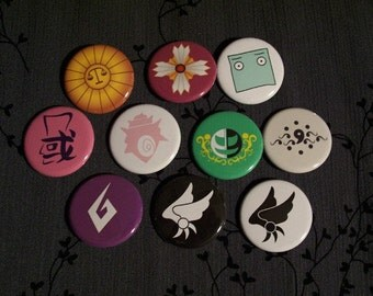 Almost Complete Ace Attorney Button Set