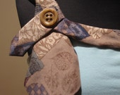 Cute Shabby Chic Upcycled Necktie Camisole