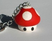 Mario Mushroom Key Chain (Pick Any Color)