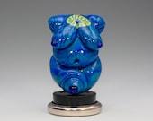 Petite Earth Goddess- Lampwork Sculpture Pendant Bead- SRA