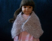 Hand Made Angora Doll Shawl or Lady's Collar