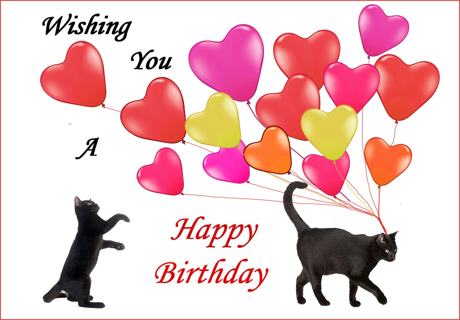 Image result for black cats happy birthday pix