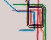 Chicago Loop Gallery Wrap Canvas - 20x20