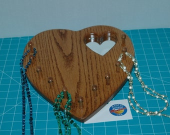 necklace Board with mirror
