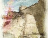 San Cristobal Fine Art Print Digital collage