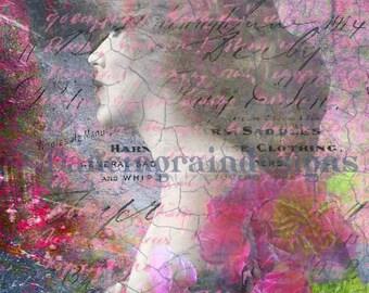 Carnations Fine Art Print 8x10