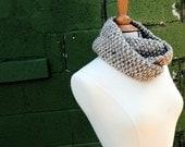 Wool Scarf Cowl - FREE SHIPPING - The Elizabeth Neckwarmer for Fall