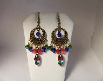 Deep Jewel Earrings