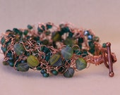 Wire Crocheted Bracelet