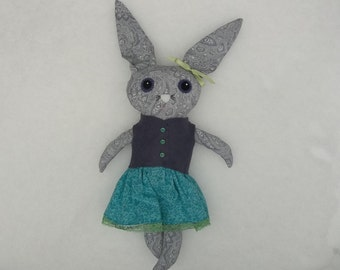 Lydia the Big Eyed Rabbit Doll