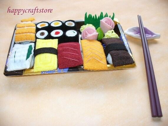 Felt Sushi Platter