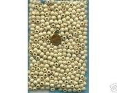 500 8mm Wood Beads, Tan