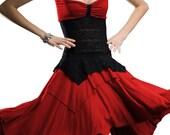Women's HARDCANDY Strapless lace inset Dress