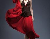 Women's FEVER Color Block Halter Dress