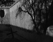 "Film noir homage, ""Vertigo,"" cemetery, Tumacacori Mission, 11x14"" archival C-print, signed, numbered, limited edition of 75"