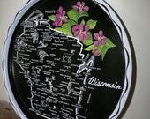 Vintage Wisconsin Tray