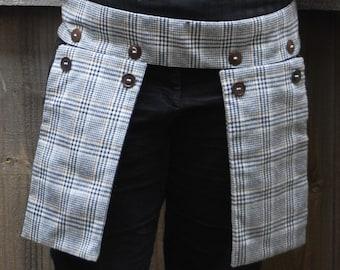 Plaid Holster Pocket - adjustable size