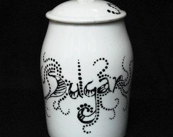 Sugar Sugar Pot upcycled