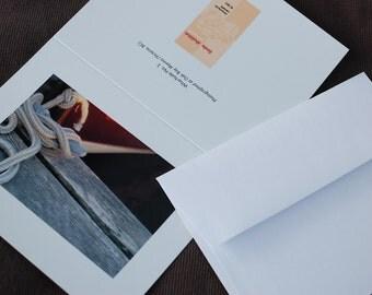 Wharfside No. 2 and No. 3,  blank art cards (set of 4)
