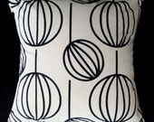 Mid Century Modern Throw Pillow Cover George Nelson BUBBLE LAMPS - Various Sizes Available