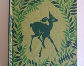Vintage Illustrated Bambi Hardback Book