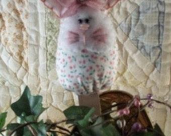Plant Poke- Calico Bunny