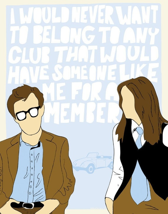 Someone Like Me - Annie Hall Print