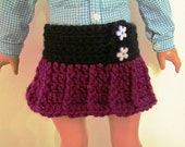 Sale! Pattern 46 18 inch Doll Skirt