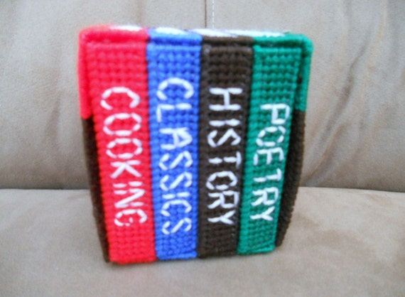 Book Coasters with Holder Set
