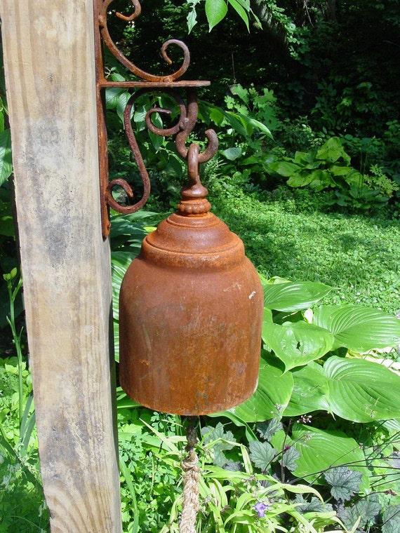 Handcrafted Ornamental Functional Garden Bell/Gong