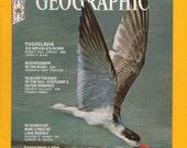 Vintage National Geographic Magazine - 1970