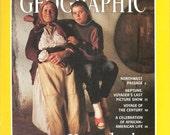 Vintage National Geographic Magazine - 1990