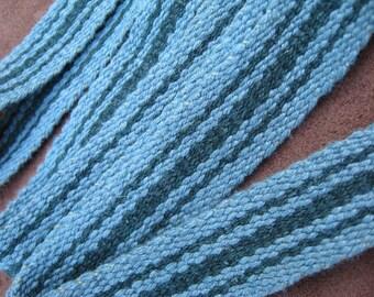 Green Cotton Sash or Strap - Sale Price