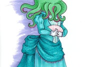 Lady Cthulhu- Art Print